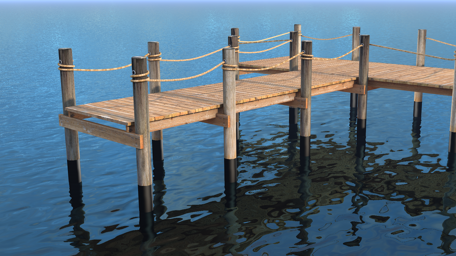 Pier Protector - Pile Wrap for Docks & Piers - Pier Protector